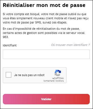 free email mot de passe oubli?
