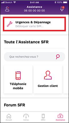 code carte sim sfr Débloquer une carte SIM SFR avec le code PUK
