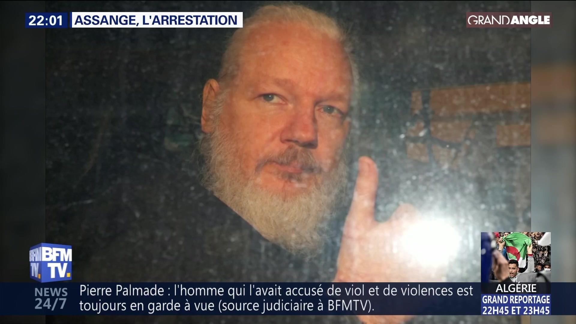 """Assange accusé d'avoir tenté de créer un """"centre d'espionnage"""" dans l'ambassade d'Équateur"""