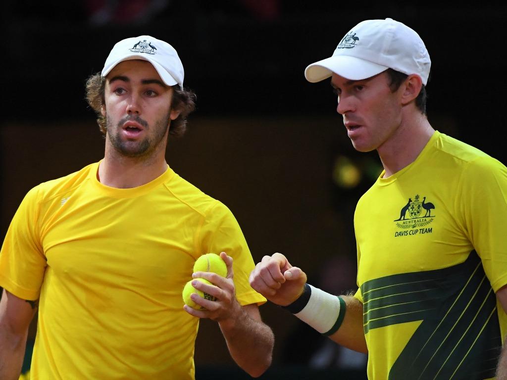 L'Australie mène 2-1 devant la Belgique — Coupe Davis