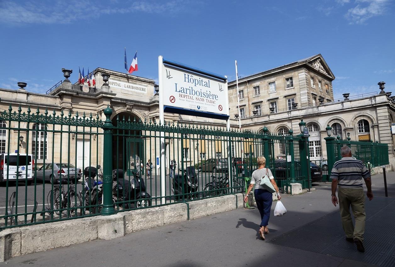 L'hôpital Lariboisière (10e arorndissement)