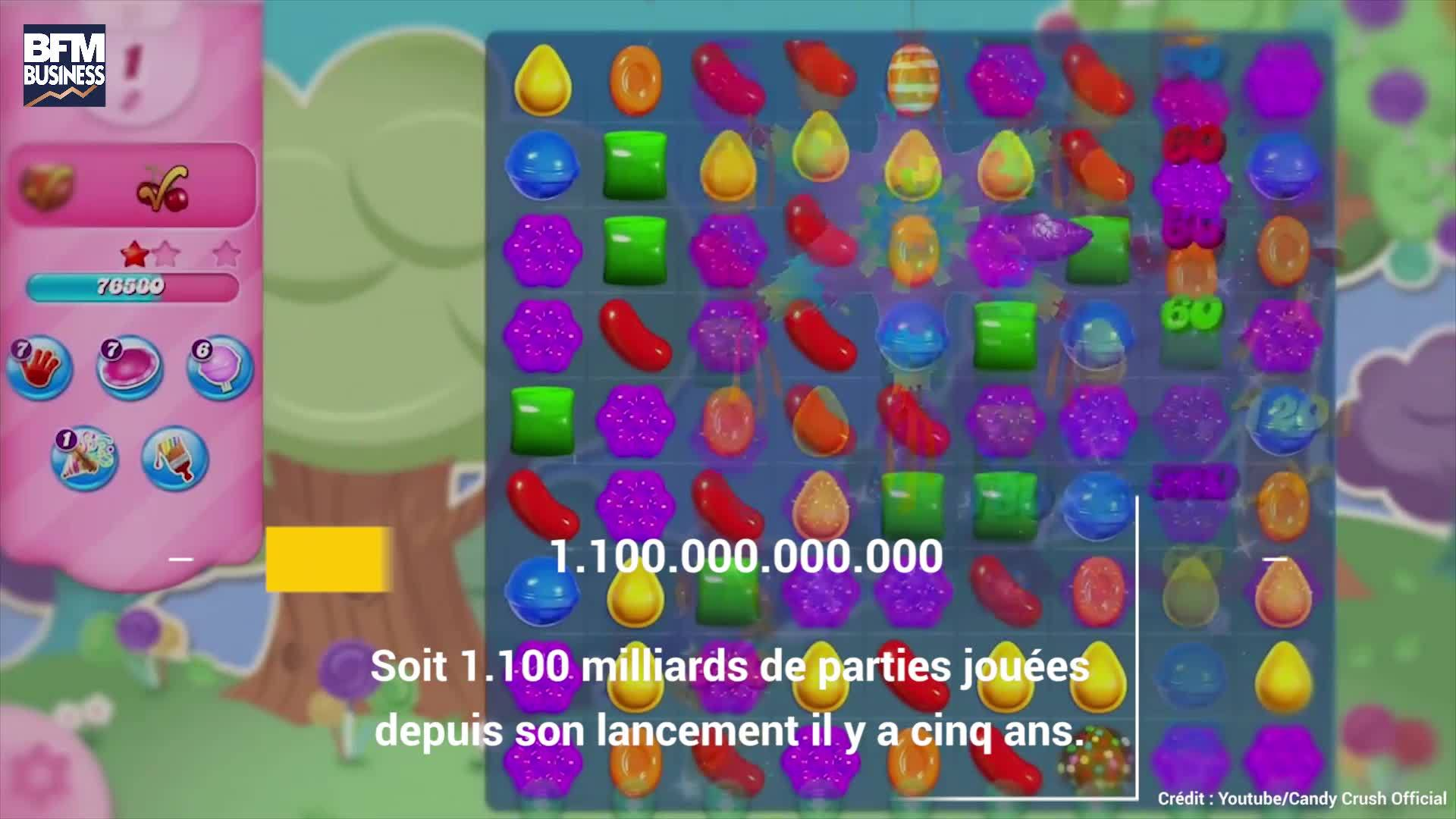 EN VIDEO - 7 choses que vous ignoriez sur Candy Crush