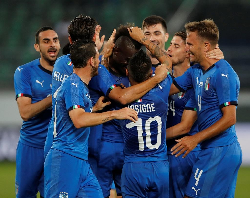 VIDÉO. Mario Balotelli marque pour son grand retour en équipe d'Italie