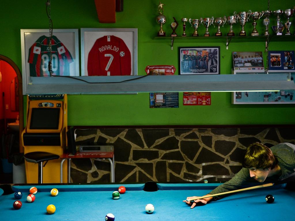 Un bar de Quinta do Falcao, le lotissement d'enfance de CR7