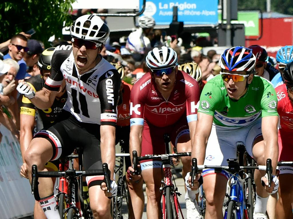 Phil Bauhaus vainqueur de la 5e étape du Dauphiné