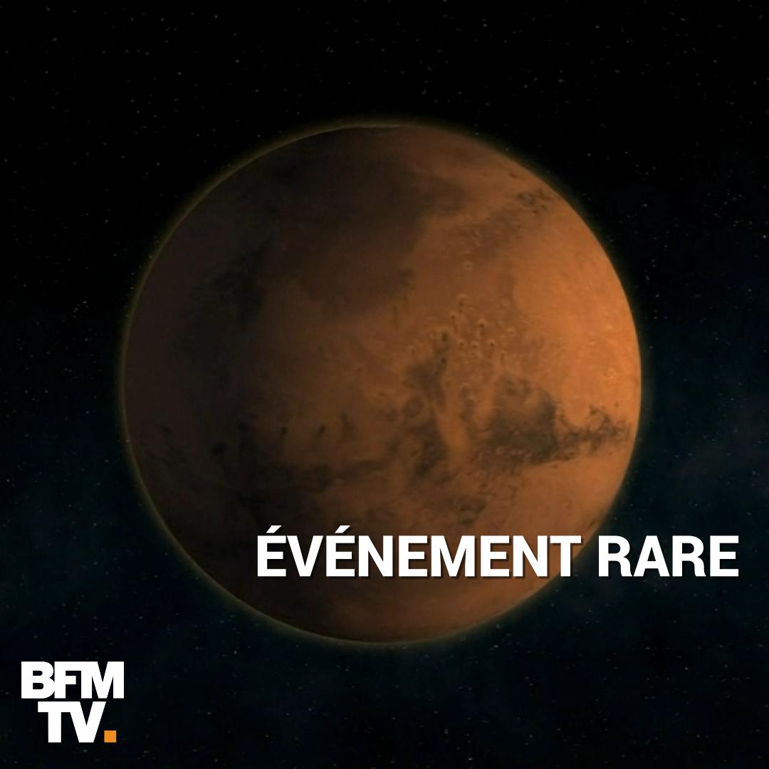 VIDÉO - Mars sera exceptionnellement proche de la Terre ce mardi soir