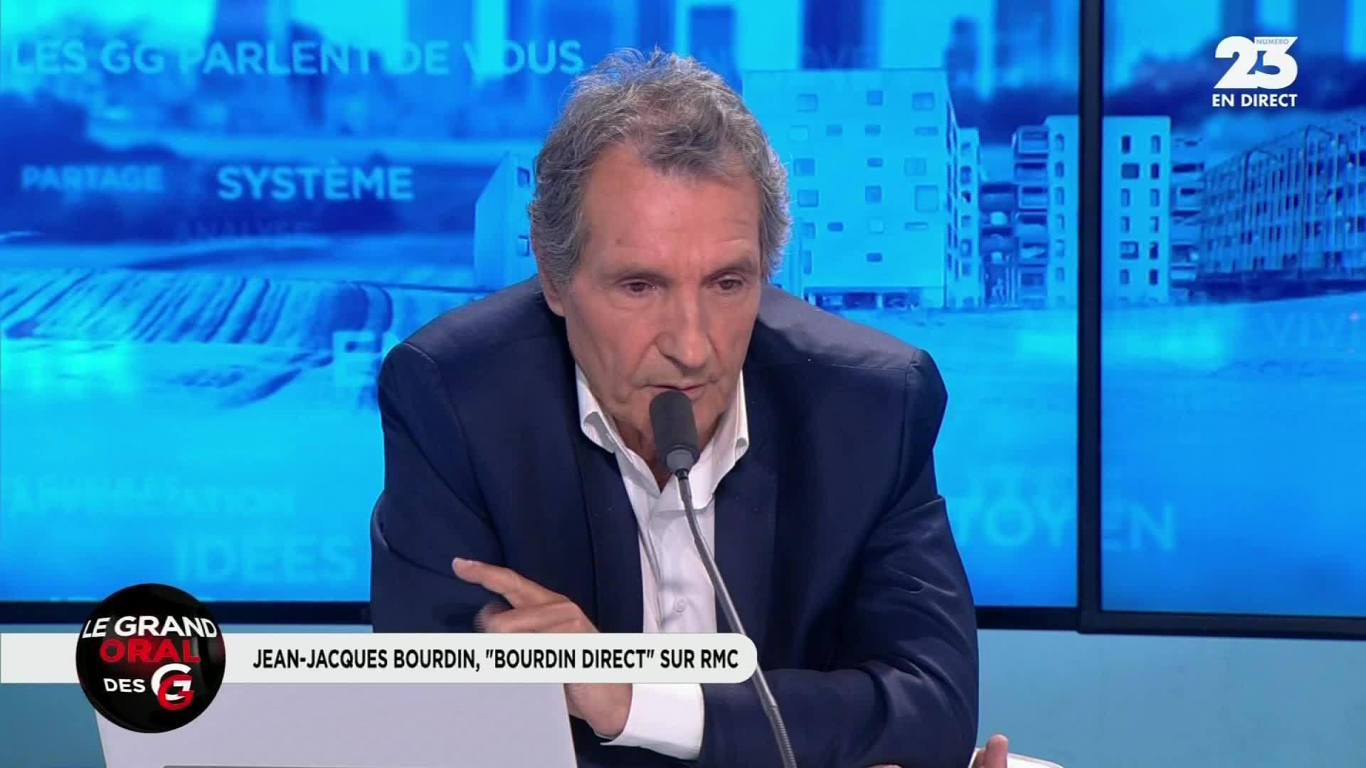 Jean-Jacques Bourdin défend sa femme Anne Nivat :