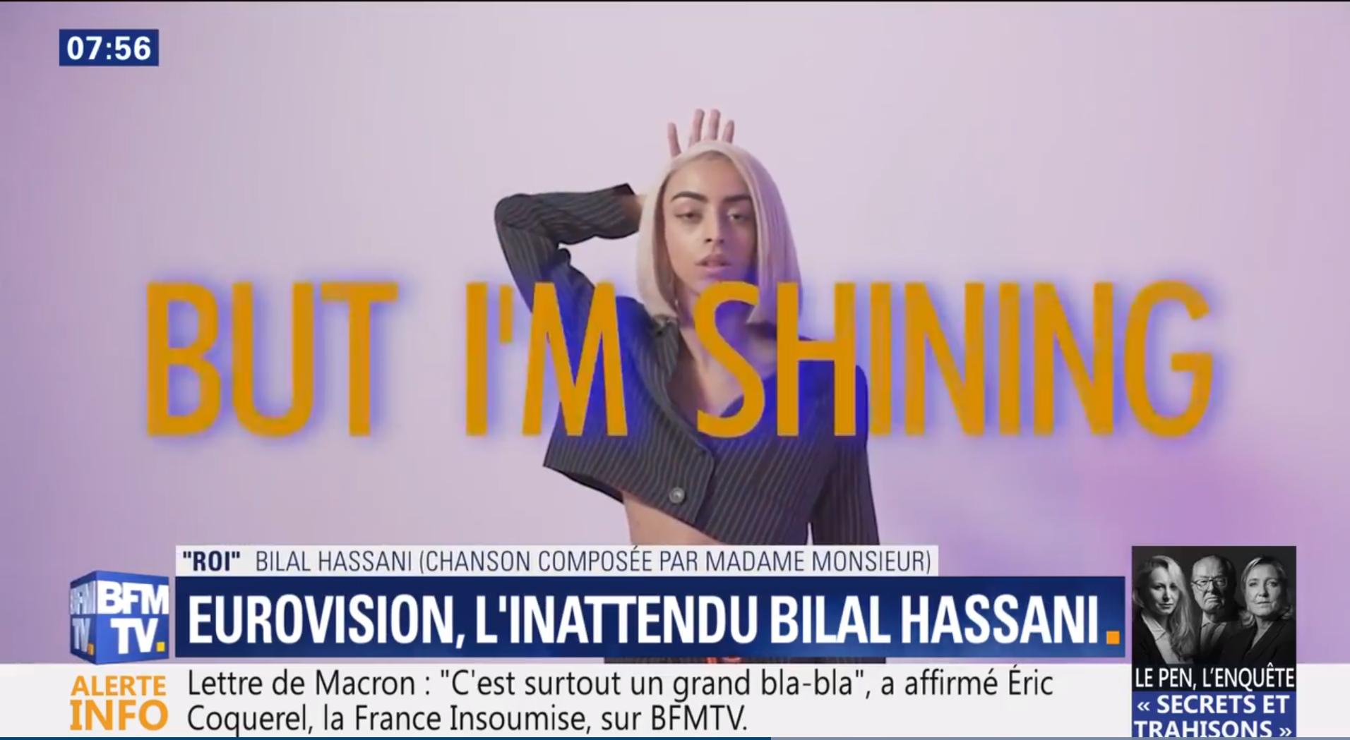 """Bilal Hassani répond à Philippe Manoeuvre : """"C'est hyper irrespectueux"""""""