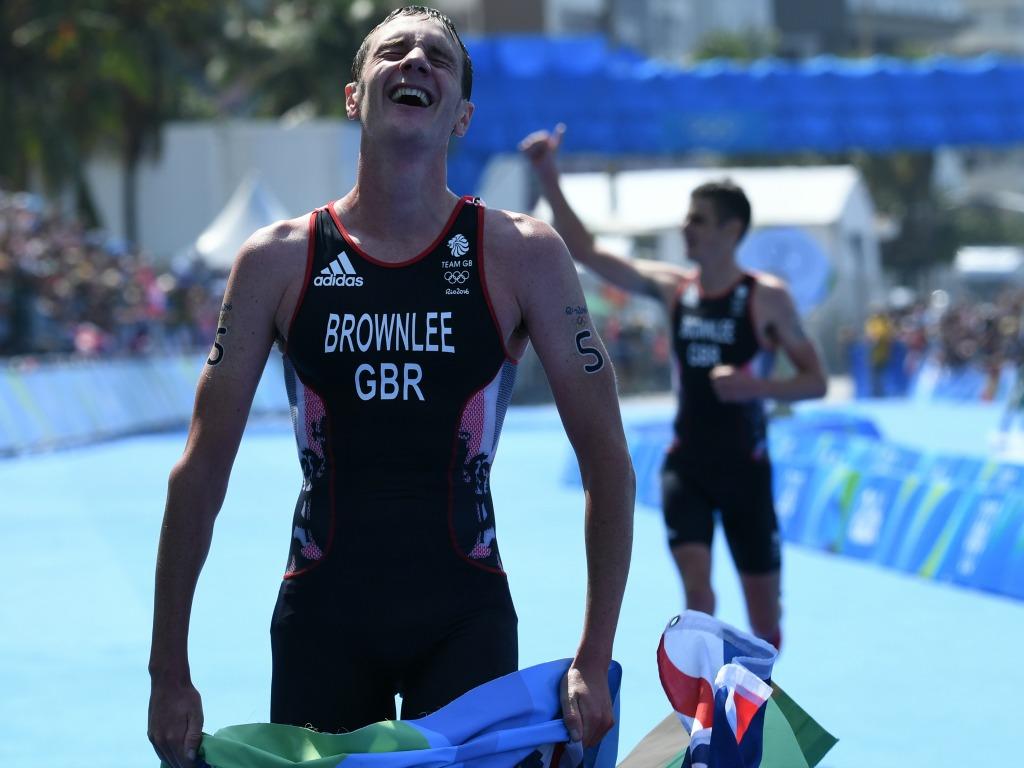 Alistair Brownlee, double champion olympique de triathlon.