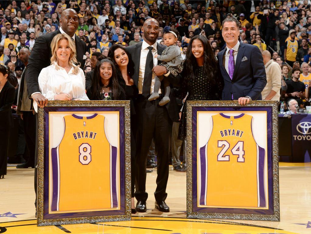 Les Lakers rendent un énième hommage à Kobe