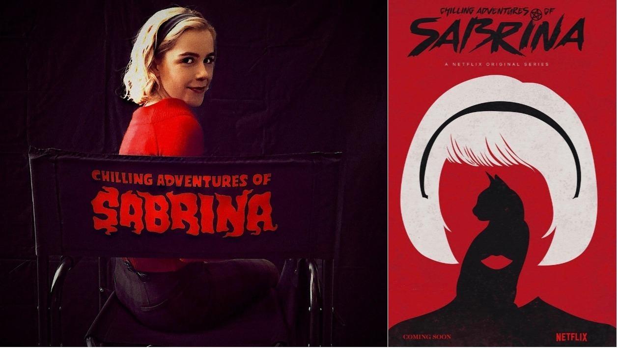 Les premiers visuels de la prochaine série Netflix, Chilling Adventures of Sabrina