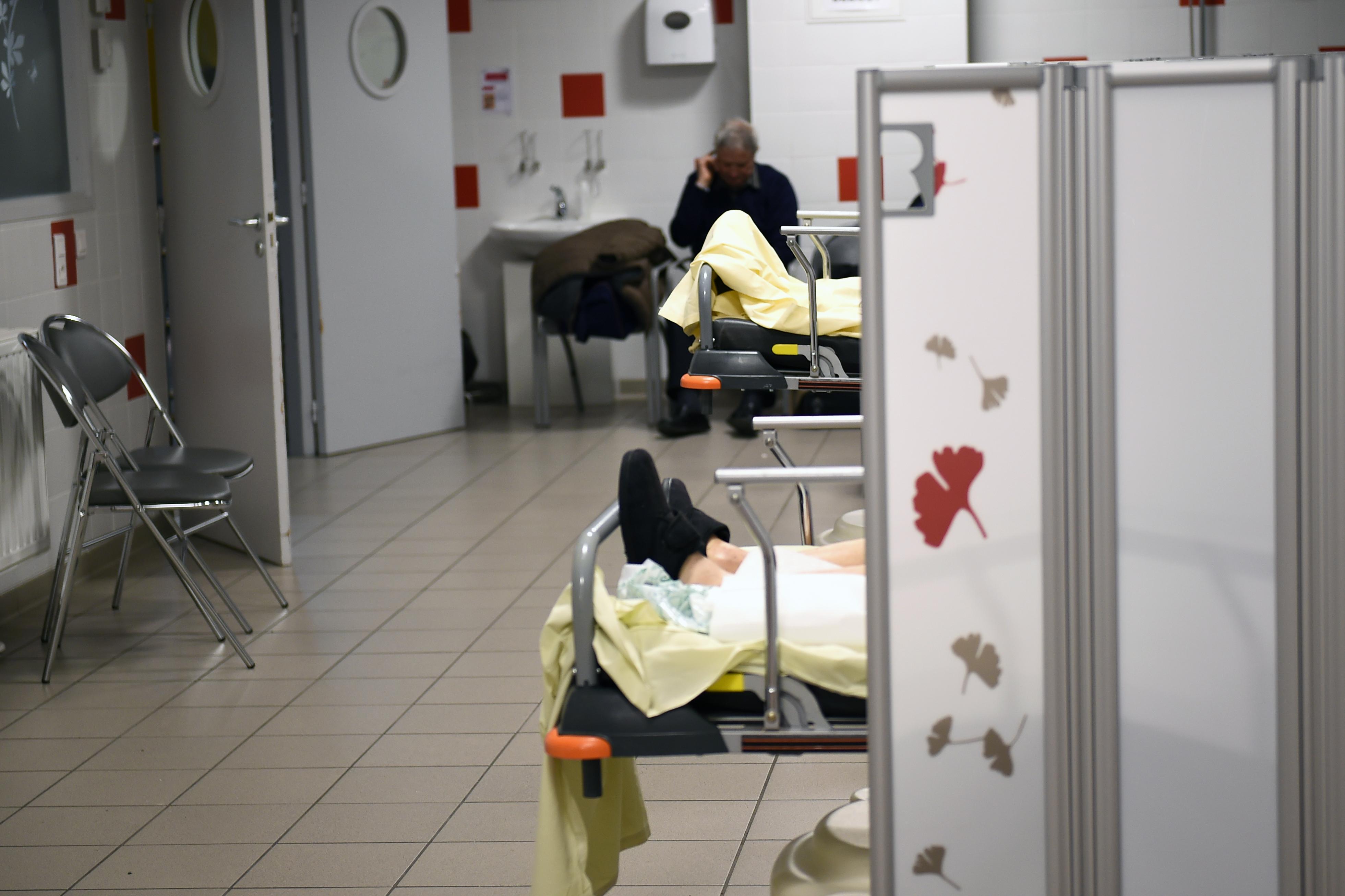 Le service d'urgences de l'hôpital Trousseau, à Tour.