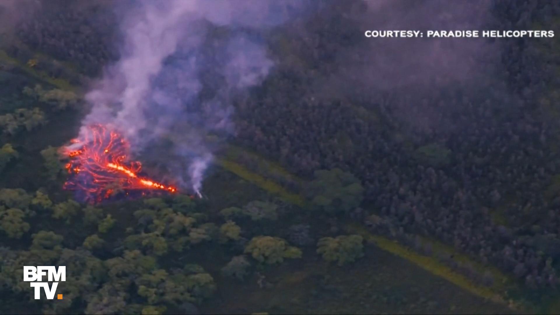 Hawaï en alerte rouge — Explosions volcaniques