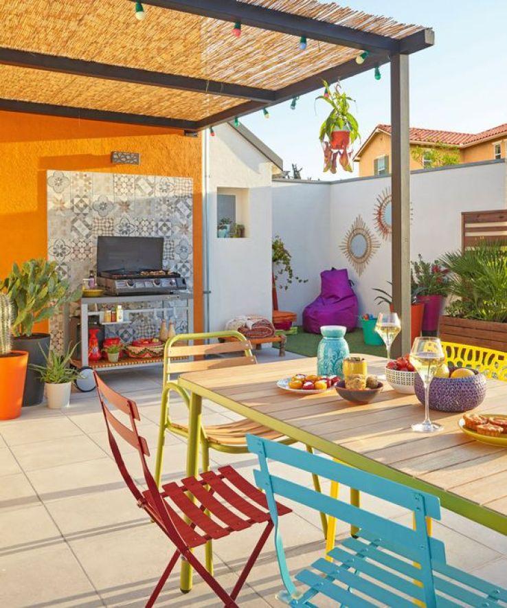 outdoor des salles manger pour profiter du soleil sfr news. Black Bedroom Furniture Sets. Home Design Ideas