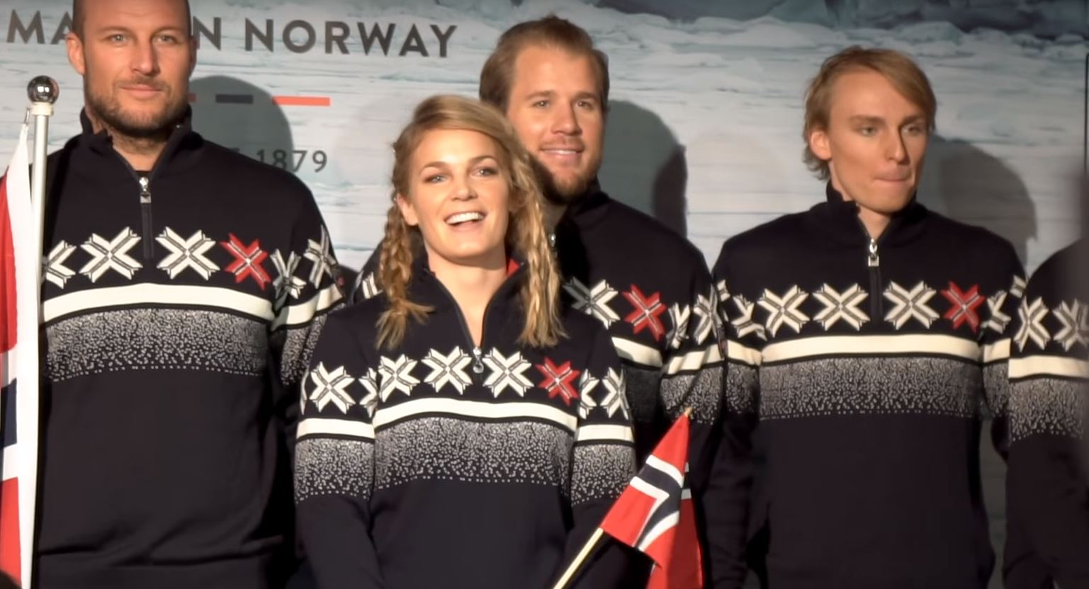 6e0160e9f5 JO 2018: l'équipe norvégienne au cœur de la polémique à cause de ses ...