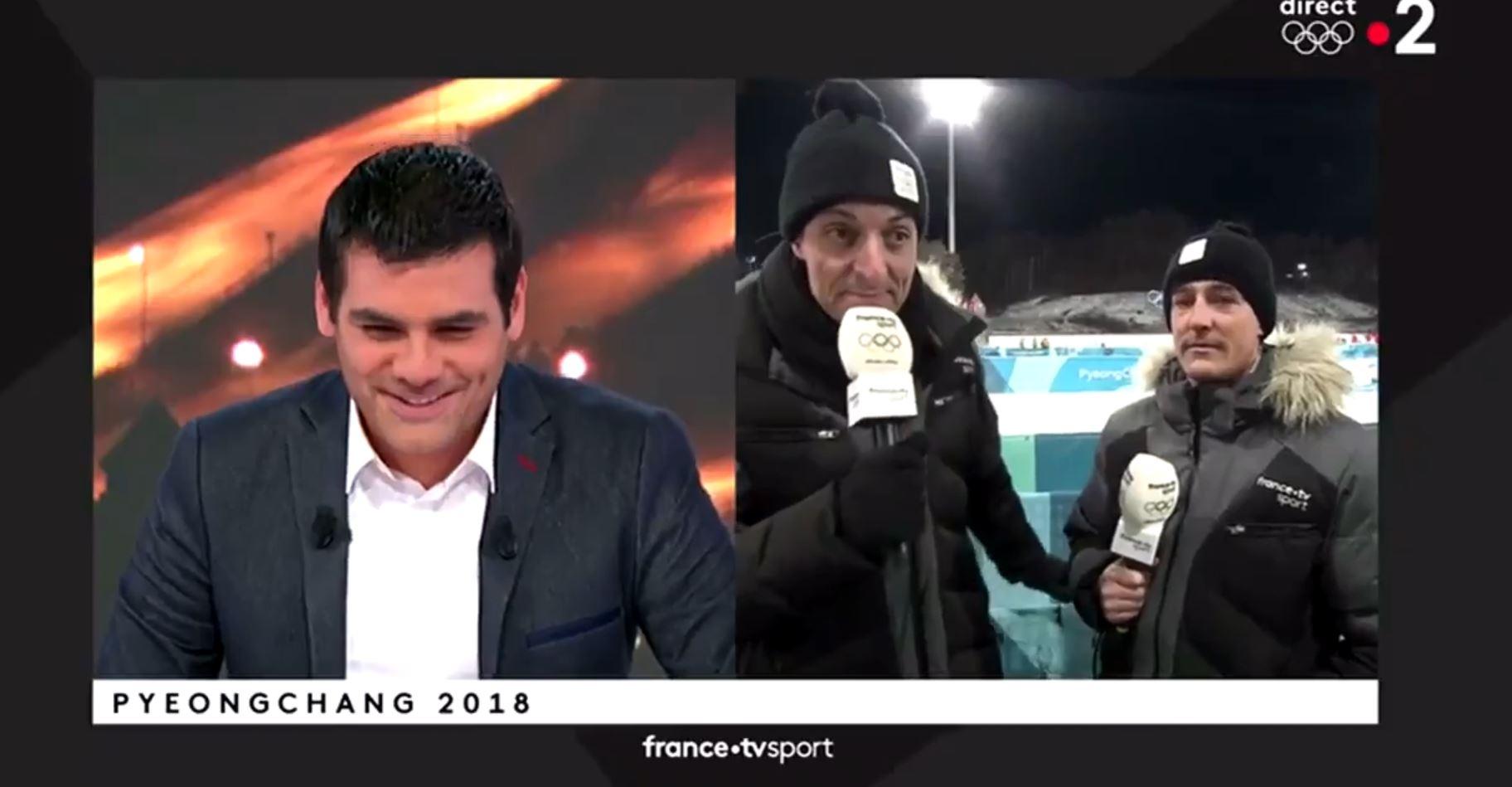 VIDÉO | Le craquage d'un journaliste français aux JO fait rire le web