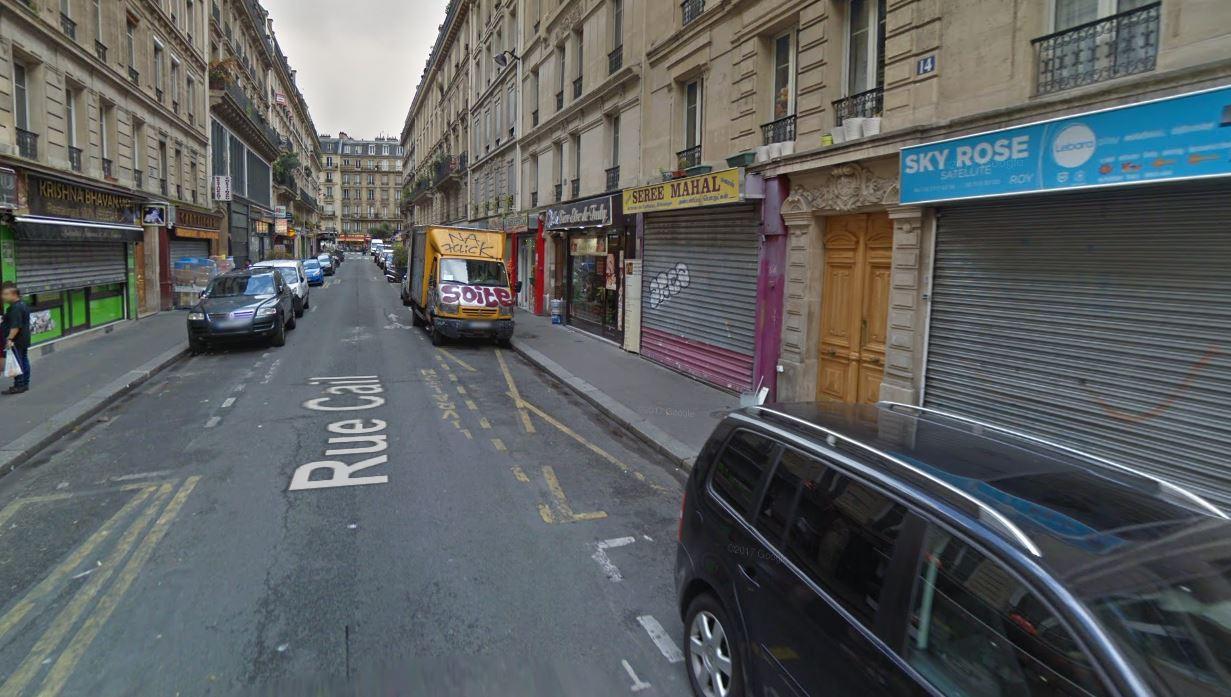 Un homme scalpé dans un restaurant — Paris