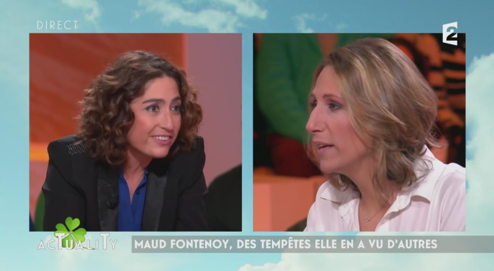 Vif échange entre l'ancienne navigatrice Maud Fontenoy et Isabelle Saporta — AcTualiTy