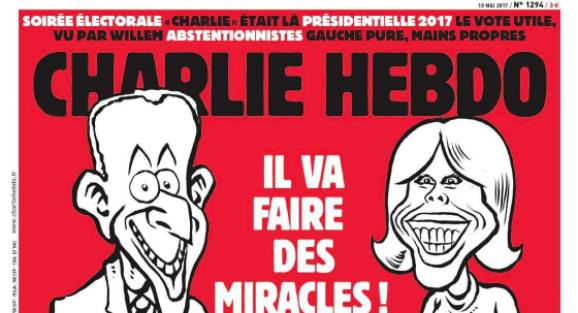 La une de Charlie Hebdo qui indigne Twitter — Brigitte Macron
