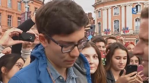 A Toulouse, Macron soigne sa gauche sur le logement