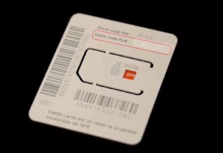 code carte sim sfr Debloquer ma carte sim   SFR Business