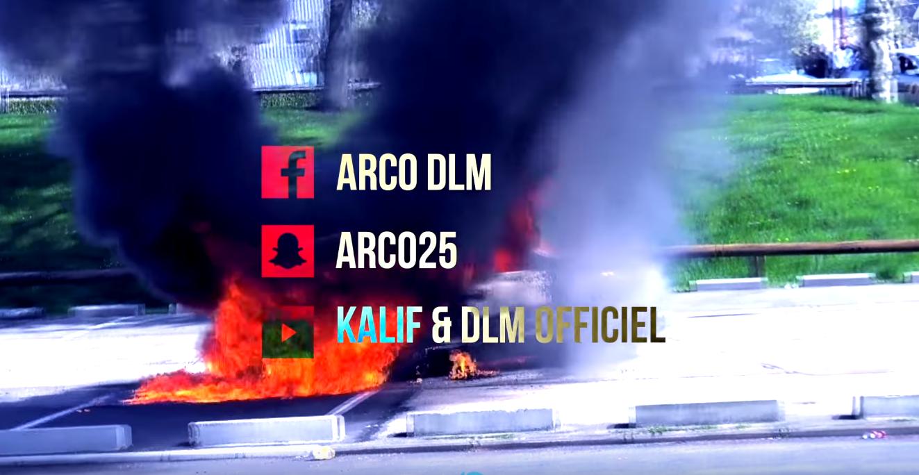 Pontarlier: la voiture brûlée dans ce clip de rap était en fait volée