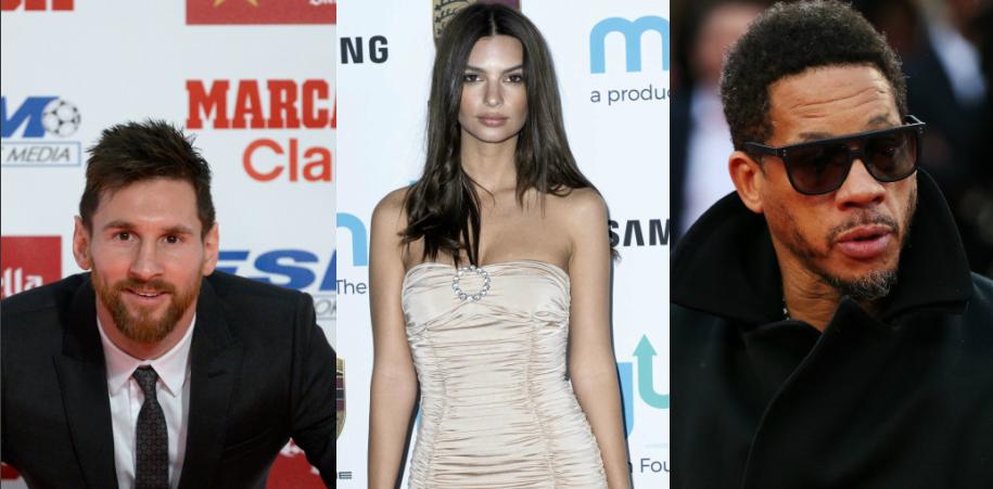 Les 3 infos people: Lionel Messi, Emily Ratajkowski et JoeyStarr