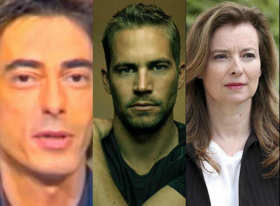 Les 3 infos people: Philippe Vecchi, Paul Walker et Valérie Trierweiler