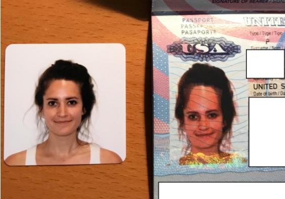 EN IMAGES - Elle reçoit son passeport, sa photo est horriblement déformée