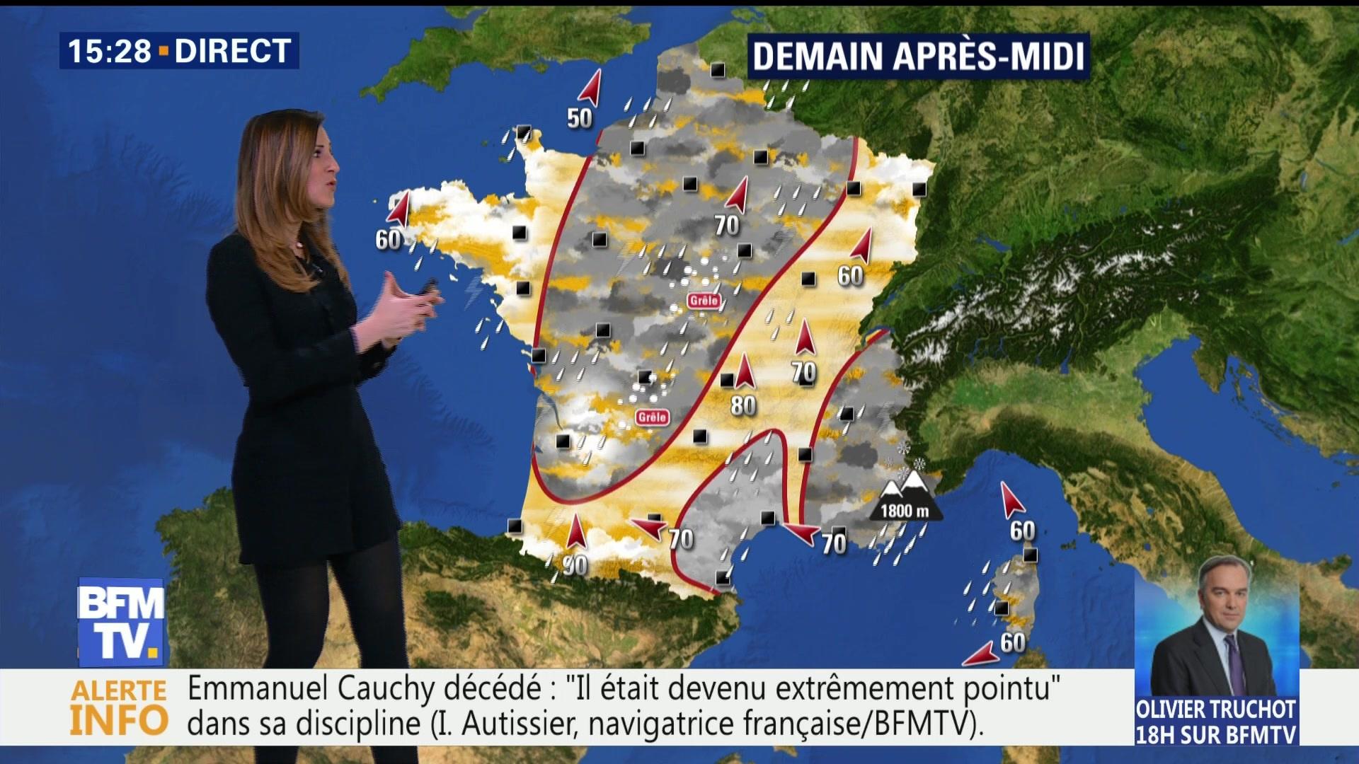 Temps chaud et ensoleillé en Auvergne-Rhône-Alpes vendredi 6 avril