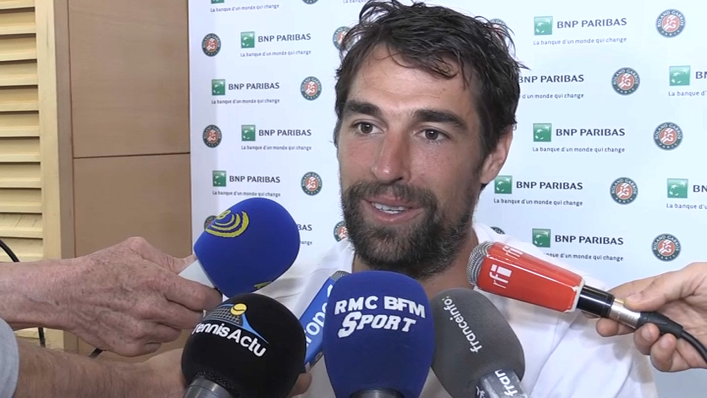Le Béarnais Jérémy Chardy qualifié pour le 2e tour — Roland garros
