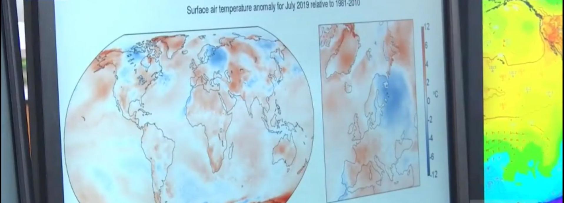 Juillet 2019 : mois le plus chaud jamais enregistré sur la planète