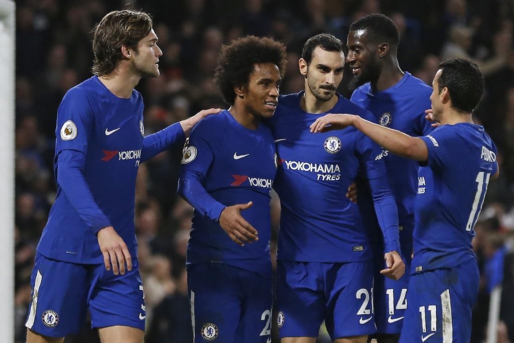 Premier League-J21 : Chelsea et Liverpool s'imposent ! United n'y arrive pas
