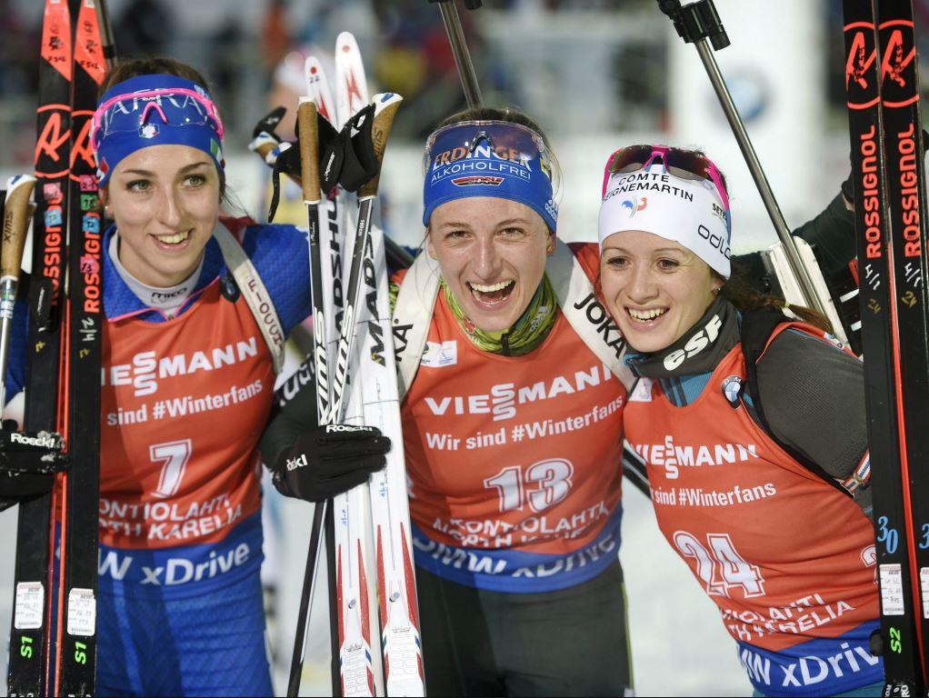 Anaïs Chevalier signe un podium en Finlande