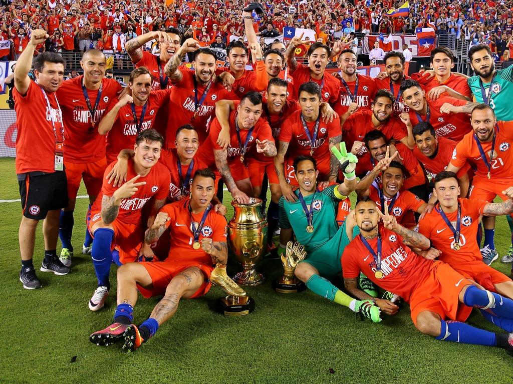 Le Chili célèbre la deuxième Copa America de son histoire