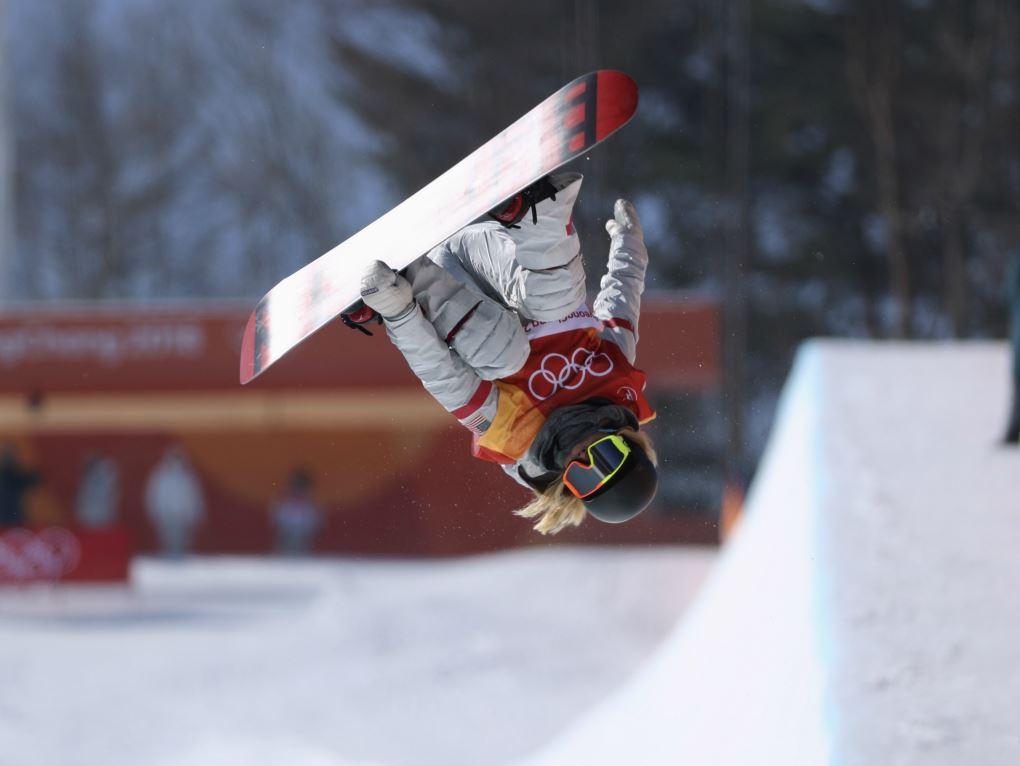Chloe Kim remporte sa première médaille d'or olympique