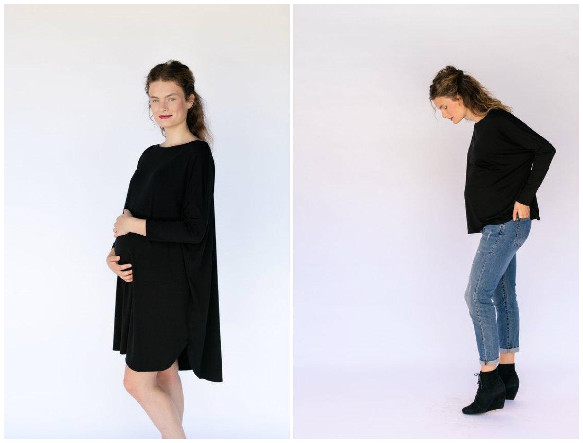 vetement femme enceinte moderne fashion designs. Black Bedroom Furniture Sets. Home Design Ideas