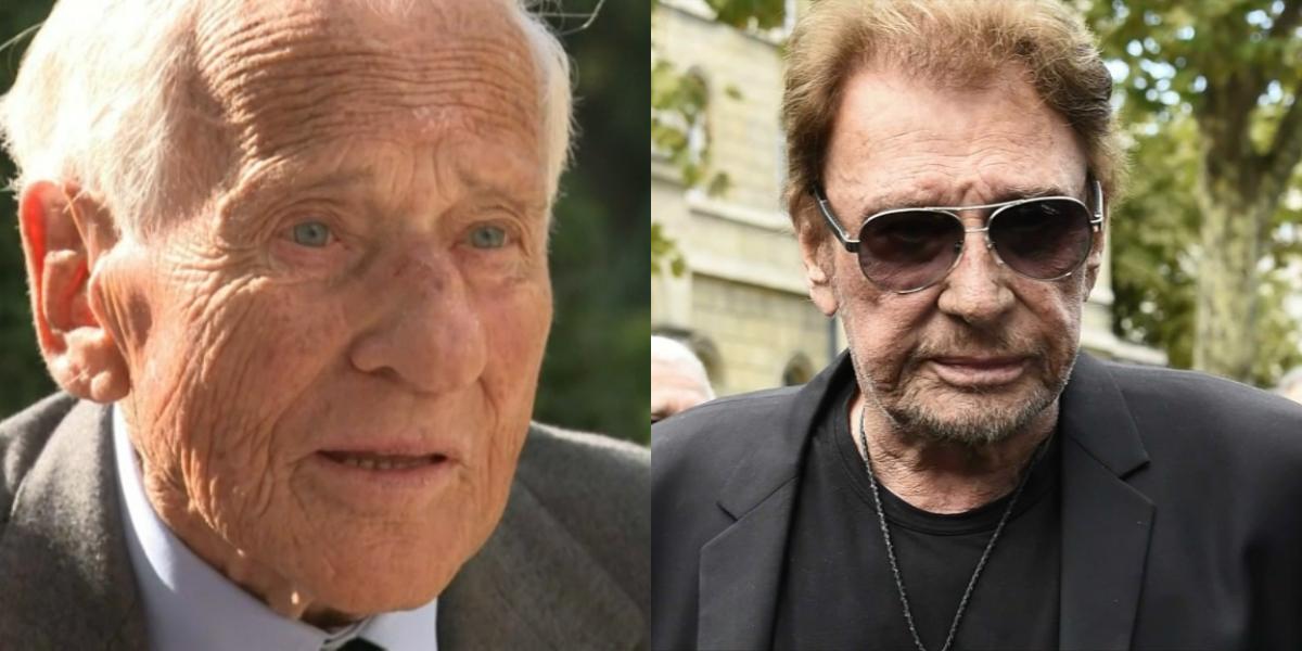 Johnny Hallyday et Jean d'Ormesson étaient cousins
