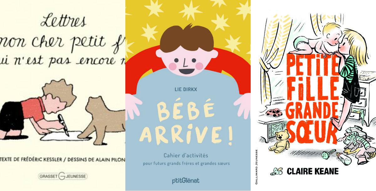 b b arrive 4 livres pour enfants pour parler de petit fr re de petite s ur et de maternit. Black Bedroom Furniture Sets. Home Design Ideas