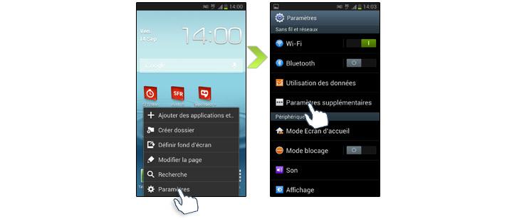 comment localiser un telephone portable samsung s3