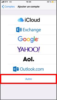 configurer mail free sur iphone sfr