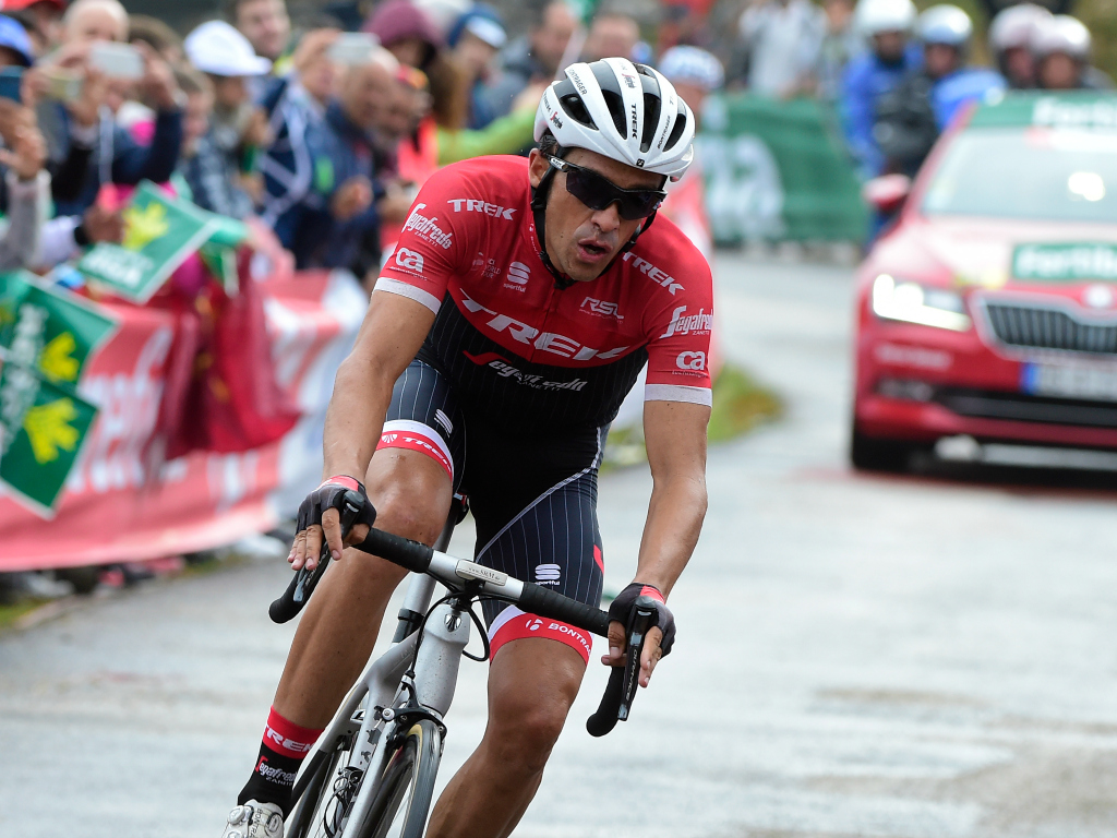 Alberto Contador, cinquième de la Vuelta