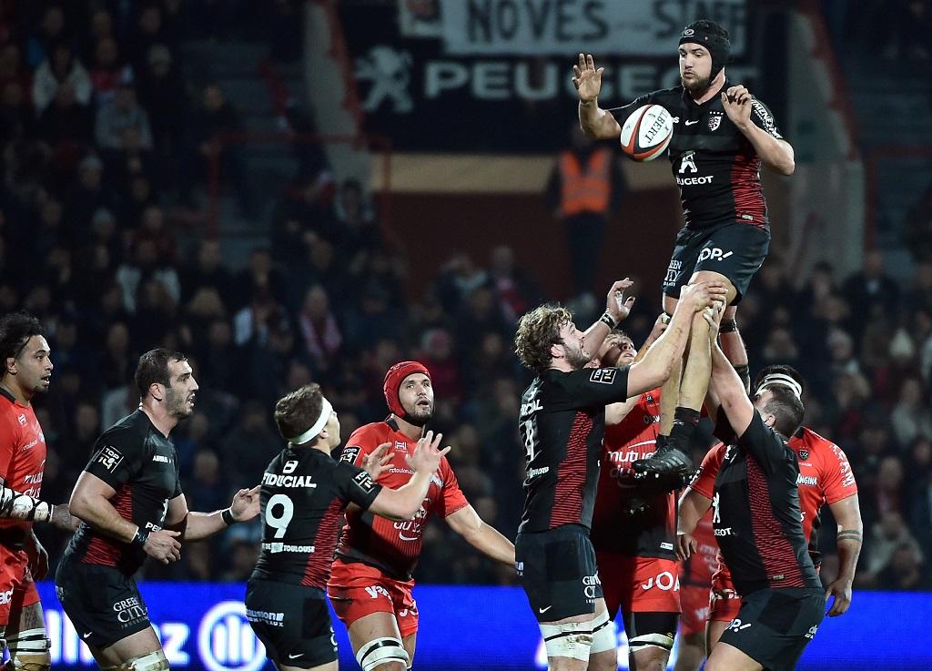 Toulouse repart de l'avant aux dépens de Toulon