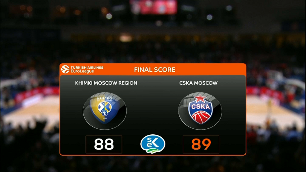 Le Real Madrid et le CSKA Moscou au Final Four