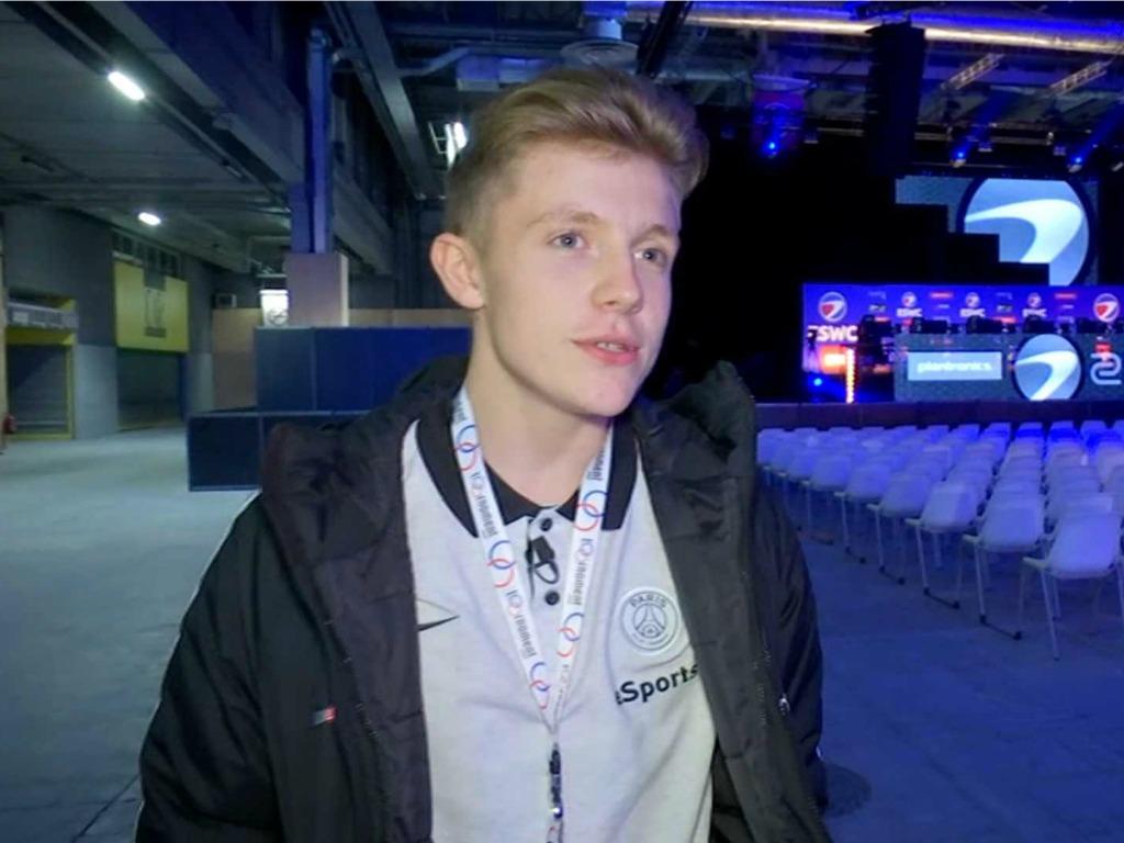 Lucas Cuillerier est champion de France Fifa
