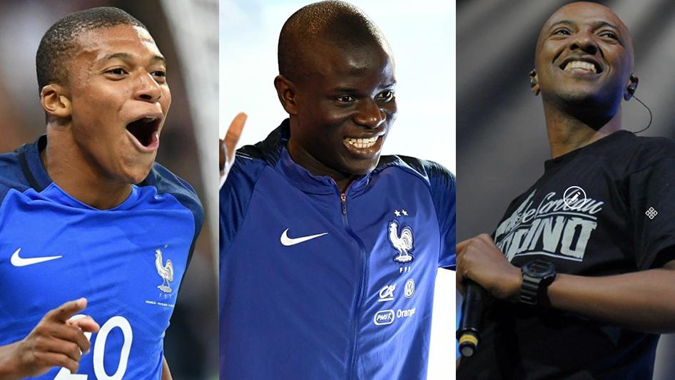 Mbappé, Kanté et Soprano