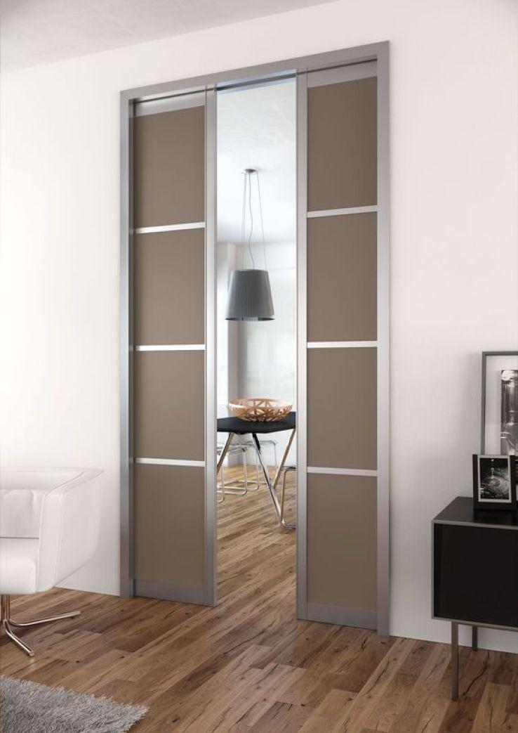 les atouts des portes coulissantes galandage sfr news. Black Bedroom Furniture Sets. Home Design Ideas
