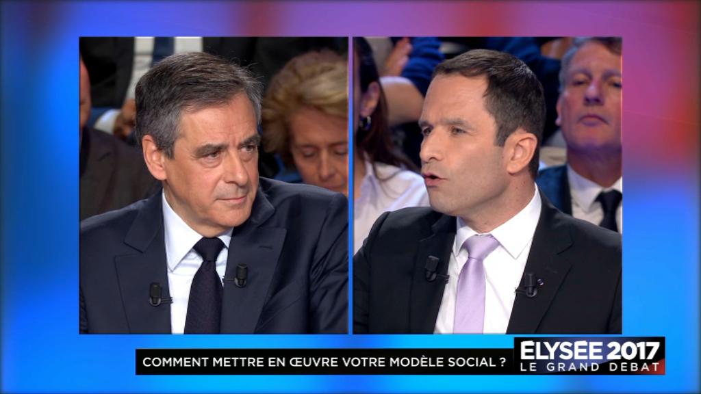 Présidentielle: Macron et Le Pen à égalité au 1er tour
