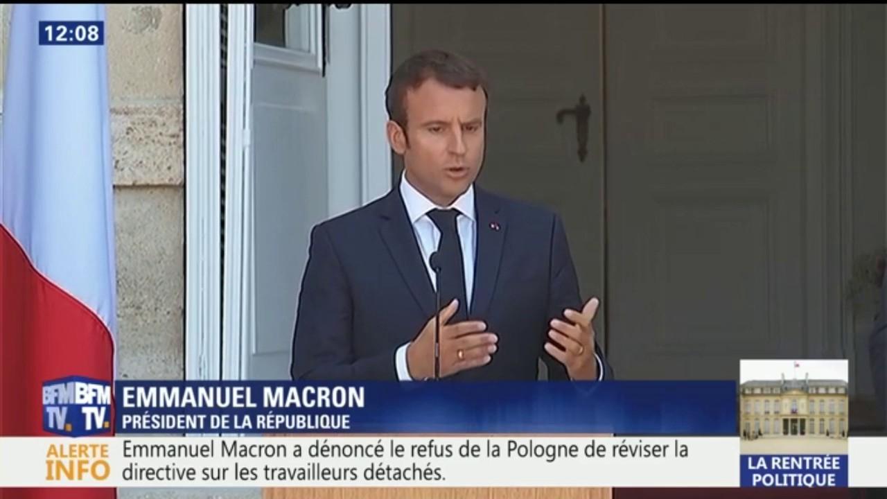 Travail détaché. Macron n'obtient pas le soutien complet de la Roumanie
