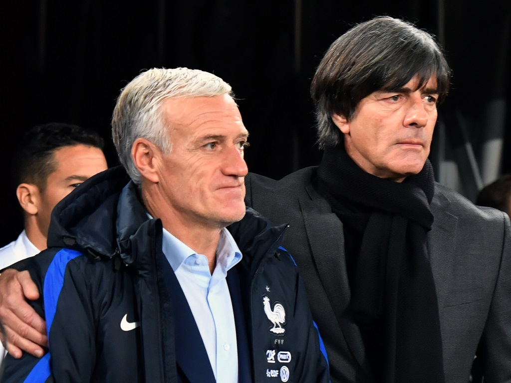 Didier Deschamps et Joachim Löw